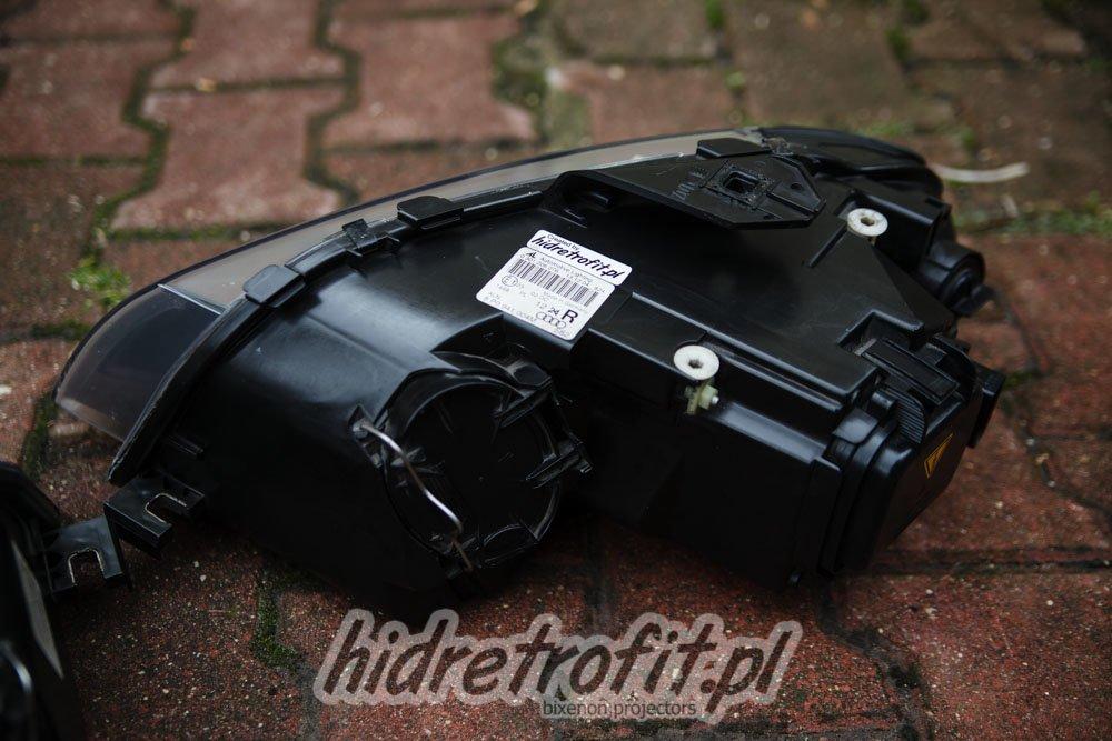 Audi A3 8p Przeróbki Lamp Na Bi Xenon Led