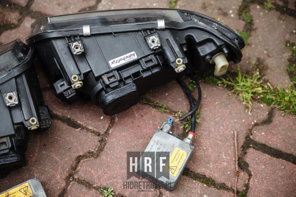 Audi a3 s3 8l przer bki lamp na bi xenon led for Mueble 2 din audi a3 8l