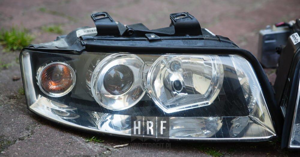 Audi A4 B6 przeróbki lamp na BI XENON LED