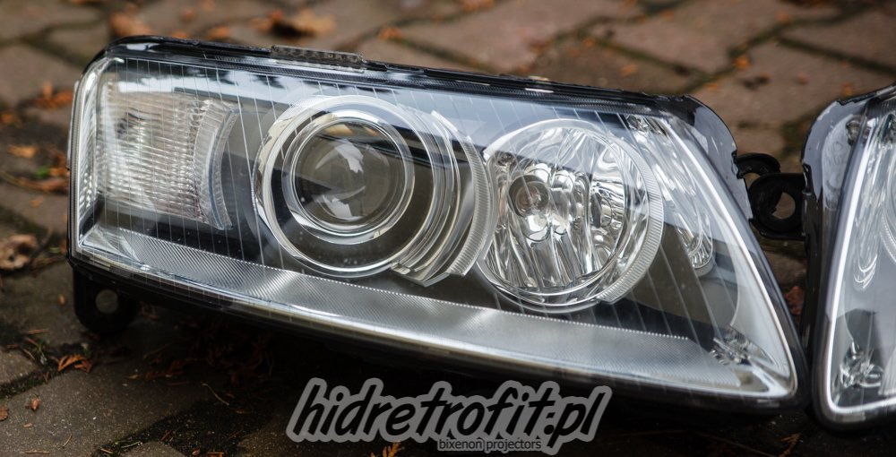 Audi A6 C6 Przer 243 Bki Lamp Na Bi Xenon Led