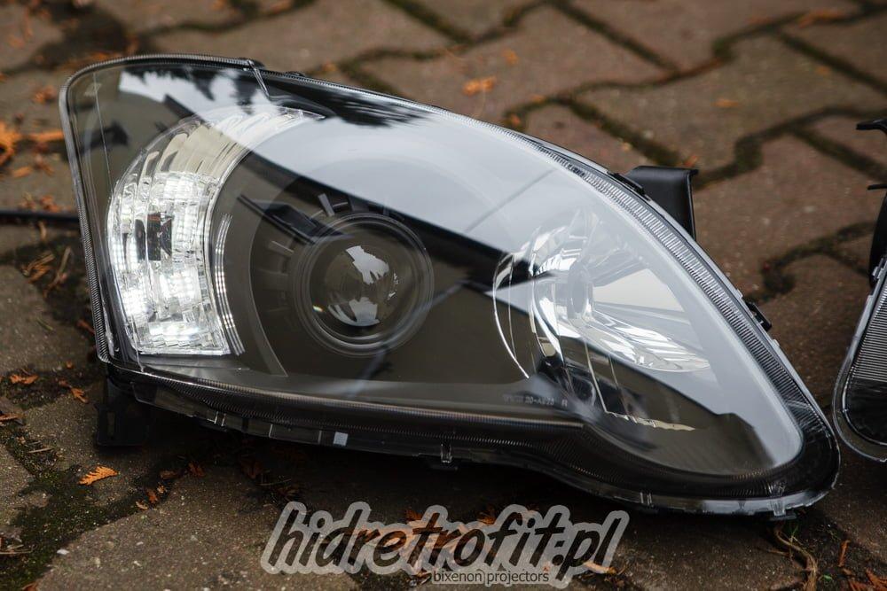 Toyota Corolla E12 Fl Przeróbki Lamp Na Bi Xenon Led