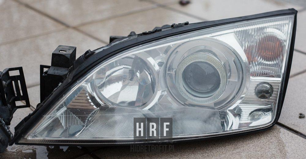 Ford Mondeo MK3 przeróbki lamp na BI XENON LED