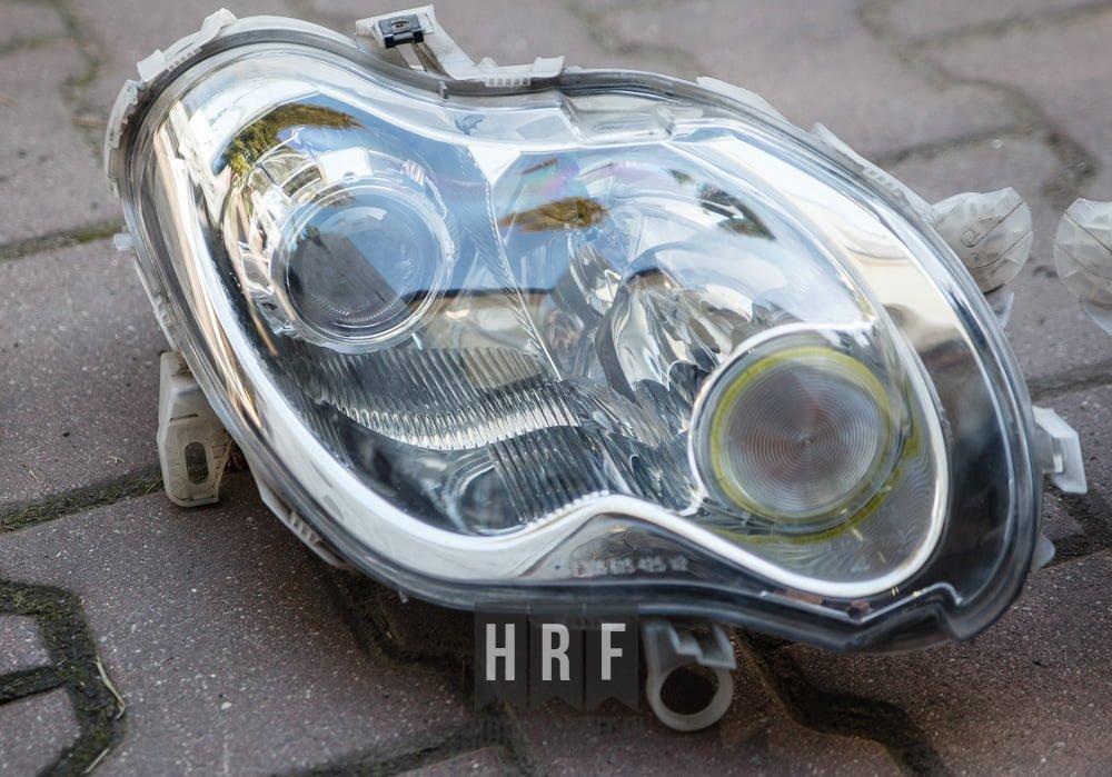 Smart ForTwo przeróbki lamp na BI XENON LED